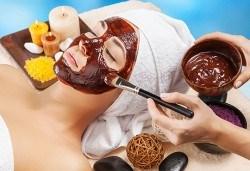 Сладка грижа за кожата! Регенерираща терапия с шоколад и масаж на лице в студио за красота Д&В, Студентски град! - Снимка