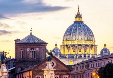 През 2018 г. във Вечния град - Рим! 3 нощувки със закуски, самолетен билет и летищни такси - Снимка