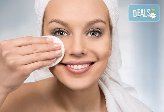 Дълбоко почистване на лице с ултразвукова шпатула и подхранваща ампула според типа кожа в студио за красота Шедьовър - Снимка 3