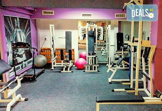 В добра форма! 8 тренировки с инструктор и изготвяне на индивидуална тренировъчна програма от фитнес клуб Алпина - Снимка 7