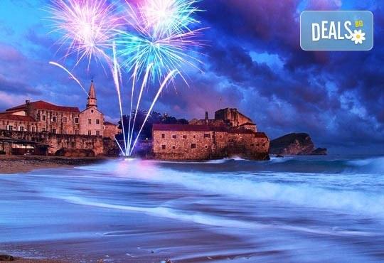 Нова Година 2018 в Будва, Черна гора, с Караджъ Турс! 4 нощувки, 4 закуски и 3 вечери в хотел Tatjana3*, транспорт, водач и богата програма - Снимка 1