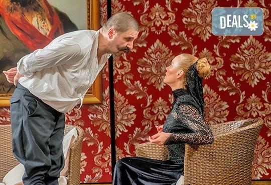 На театър! Асен Блатечки, Койна Русева, Калин Врачански в Малко комедия, на 12.11. от 19ч, Театър Сълза и Смях, 1 билет - Снимка 5