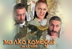 На театър! Асен Блатечки, Койна Русева, Калин Врачански в Малко комедия, на 12.11. от 19ч, Театър Сълза и Смях, 1 билет - Снимка