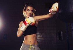 Сила и издръжливост! Пет тренировки по бокс и кикбокс за мъже, жени и деца на стадион Васил Левски в Боен клуб Левски! - Снимка