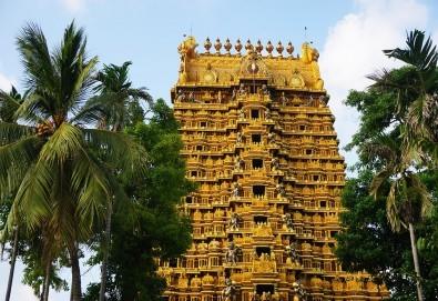 През февруари или март пътувайте до Шри Ланка! 7 нощувки със закуски и вечери, самолетен билет, трансфери, посещение на водопадите Клеър, градини за подправки, резерват за слонове и още! - Снимка
