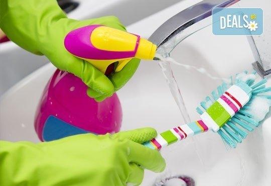 Почистване на прозорци, обезпрашаване на дограми и пране на мека мебел до 3 дедящи места от Професионално почистване Рего! - Снимка 2