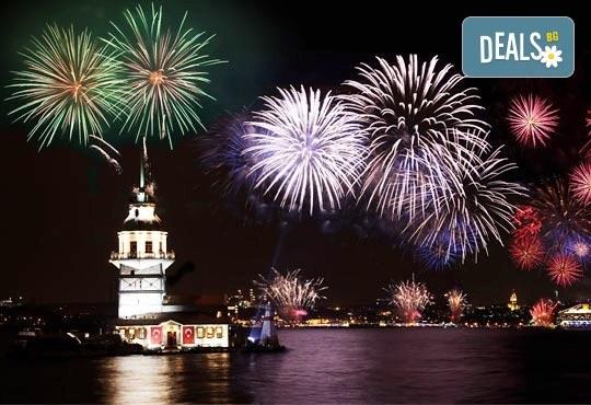 Нова Година 2018 в Истанбул в хотел Buyuk Sahinler 4* с Караджъ Турс! 3 нощувки със закуски, Новогодишна вечеря, транспорт, водач и богата програма! - Снимка 1