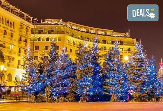 Коледен шопинг в Солун за 1 ден! Транспорт и екскурзоводско обслужване от Еко Тур! - Снимка 1