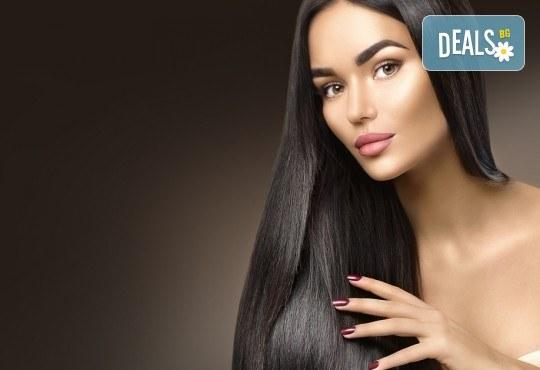 Стилна прическа бързо и евтино! Полиране на коса и стилизиране с дълбоко подхранващи продукти на KEUNE Ивелина Студио! - Снимка 1