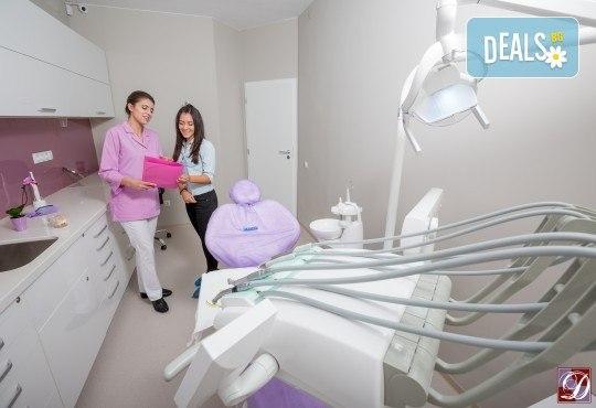 Обстоен дентален преглед, почистване на зъбен камък и зъбна плака с ултразвук и полиране с Air Flow в Deckoff Dental - Снимка 3
