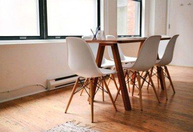 Двустранно измиване на прозорци и дограма на апартаменти и офиси за София от фирма QUICKCLEAN! - Снимка