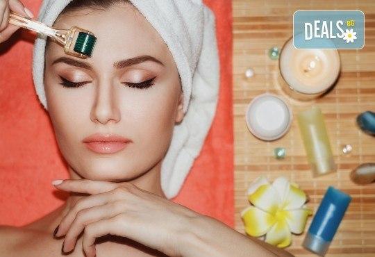 Дълбоко почистване на лице в 10 стъпки, терапия по избор: колагенова мезотерапия или терапия против акне с био козметика на водещата немска фирма Dr. Spiller в студио Beauty, Лозенец! - Снимка 2