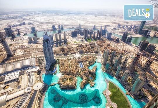 През 2018 в Дубай, ОАЕ: 7 нощувки със закуски, самолете билет и програма