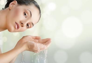 Медицинско почистване на лице, кислороден пилинг, терапия за контрол на порите и маска в салон за красота Алма Морел - Снимка