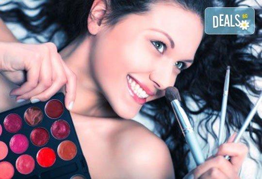 Професионален грим и прическа на адрес на клиента и бонус: поставяне на мигли от Makeup Nails and Lashes by Katerina Nik - Снимка 4