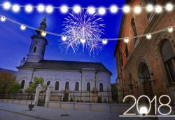 Нова година в Hotel Putnik 3*, Нови Сад, Сърбия! 2 нощувки със закуски, 1 стандартна и 1 празнична вечеря с богато меню и неограничени напитки. Собствен транспорт! - Снимка