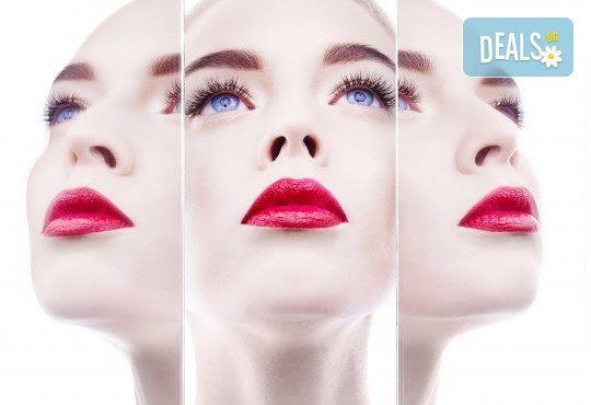 Поставяне на 3D мигли за изумителна дължина и съблазнителен обем в студио за красота Jessica - Снимка 2