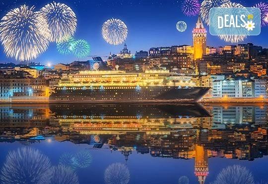 Нова година в Истанбул, Турция! 2 нощувки със закуски в хотел 3*, транспорт, водач от агенцията и бонус: посещение на МОЛ Форум! - Снимка 1