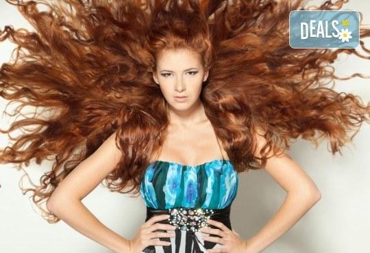 За здрава и силна коса! Подстригване, нанасяне на ампула против косопад и подсушаване в студио за красота Мария! - Снимка 2