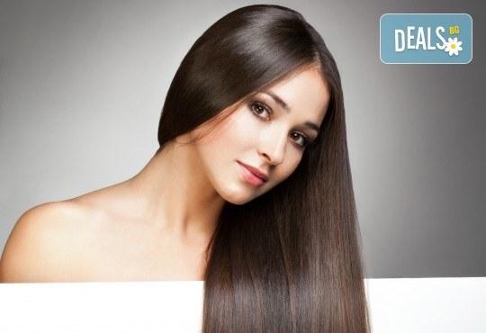 Подстригване, ламиниране на косата за здравина и дълготраен блясък, сешоар и подарък: плитка в студио за красота Мария! - Снимка 1