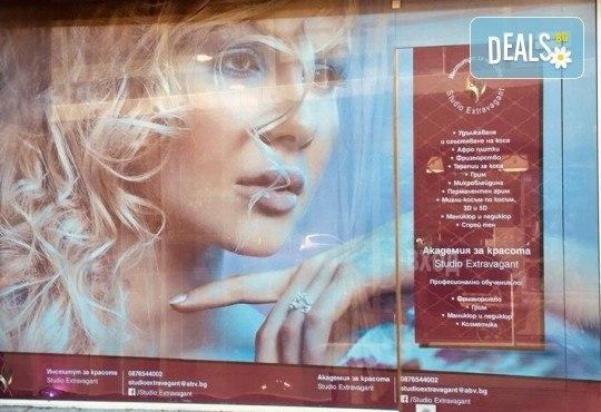 За съблазнителен поглед! Удължаване и сгъстяване на мигли - косъм по косъм, 3D или 5D - Russian Volume, с естествен косъм от норка в Studio Еxtravagant! - Снимка 7