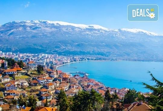Нова Година 2018 в Охрид с Дари Травел! 3 нощувки, 3 закуски и 2 вечери, Новогодишна вечеря в Hotel Belvedere 4*, транспорт и програма в Скопие и Охрид - Снимка 11