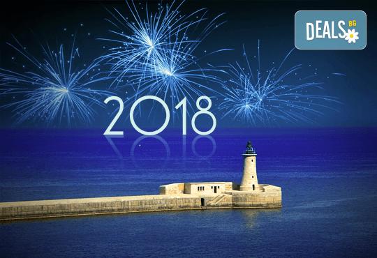 Нова година в Малта! 5 нощувки със закуски, самолетен билет, голям багаж и трансфери, възможност за Новогодишна вечеря - Снимка 1