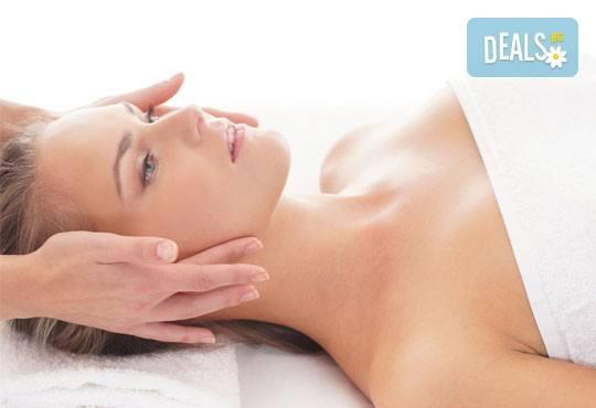 Терапия за лице по избор - златна или избелваща с френска био козметика на Blue Marine, релаксиращ масаж и серум за защита и подхранване в Anima Beauty&Relax - Снимка 3