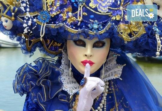На Карнавал във Венеция през февруари: 3 нощувки със закуски, транспорт и водач