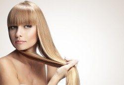 Подстригване, измиване, йонизираща преса, полиране с полировчик, за дълготрайно справяне с цъфтежите и защита на косата от ниските температури и стилизиране със сешоар в салон Madonna! - Снимка