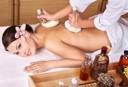 Есенна превенция! Дълбок оздравителен масаж плюс канапе от билков компрес и емулсия витаминни масла в SPA център Senses Massage & Recreation! - Снимка