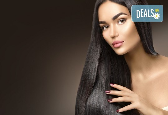 Удължаване и сгъстяване на коса със 100% естествени, натурални коси, боядисване за уеднаквяване на цвета, подстригване и преливане на косите в Studio Еxtravagant! - Снимка 2