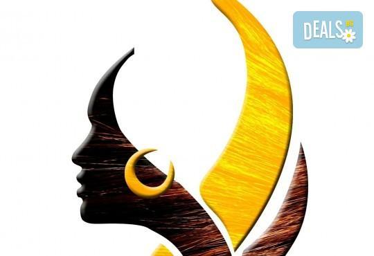 Удължаване и сгъстяване на коса със 100% естествени, натурални коси, боядисване за уеднаквяване на цвета, подстригване и преливане на косите в Studio Еxtravagant! - Снимка 4