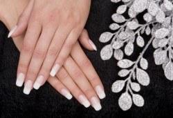 Поддръжка на ноктопластика и класически или френски маникюр с хибридни лакове Depend и бонус: масаж на ръце от Beauty center D&M! - Снимка