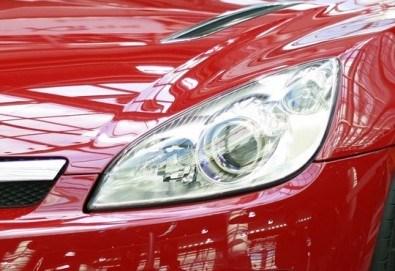 Монтaж нa 2 броя ксенон светлини или дневни светлини на лек автомобил от DKmotorsports - Снимка