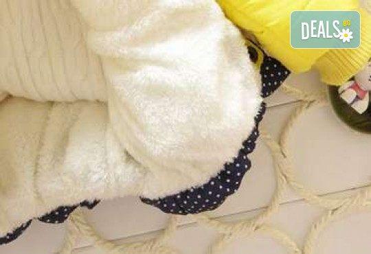 Подарък за Вашето дете! Зимно детско яке с Мини Маус за момичета в цвят по избор от Grizzly Mall - Снимка 9