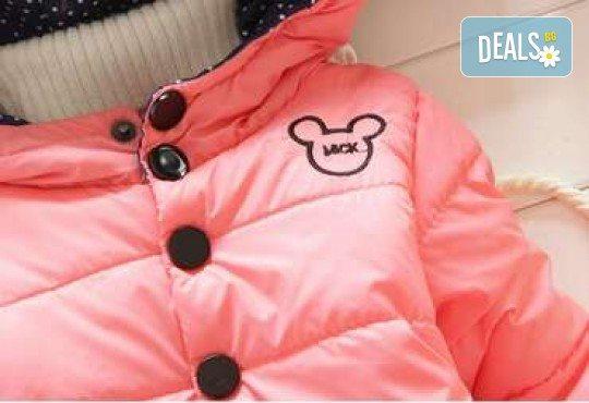Подарък за Вашето дете! Зимно детско яке с Мини Маус за момичета в цвят по избор от Grizzly Mall - Снимка 5