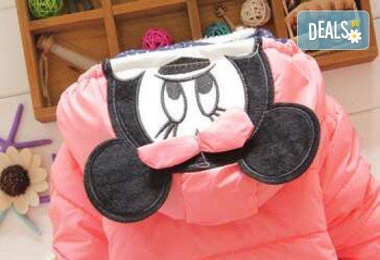Подарък за Вашето дете! Зимно детско яке с Мини Маус за момичета в цвят по избор от Grizzly Mall - Снимка 6