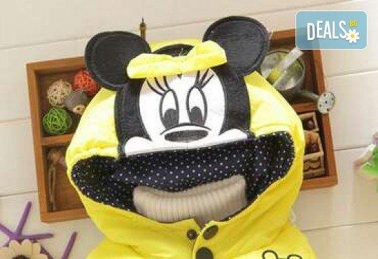 Подарък за Вашето дете! Зимно детско яке с Мини Маус за момичета в цвят по избор от Grizzly Mall - Снимка 8