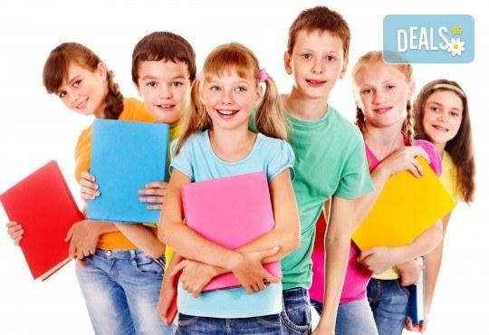 Едномесечен курс по Английски език за деца от 4 до 5г., 4 занимания 2 пъти седмично по 1 час, малки групи, в Учебен център Английски свят - Снимка 1