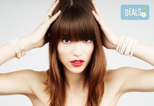 Професионално подстригване, масажно измиване и терапия според типа коса по избор, ултразвук и подсушаване от Женско царство! - Снимка 2