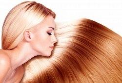 Ултразвукова биоламинираща терапия за коса, студена URS преса и оформяне със сешоар в салон Женско Царство - Център /Хасиенда/! - Снимка