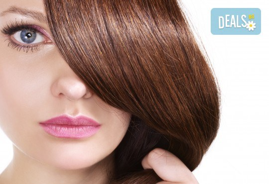 Есенна грижа за Вашата коса! Терапия с дарсонвал, нанасяне на ампула според нуждите на косата и оформяне на прическа в Женско царство - Студентски град - Снимка 2