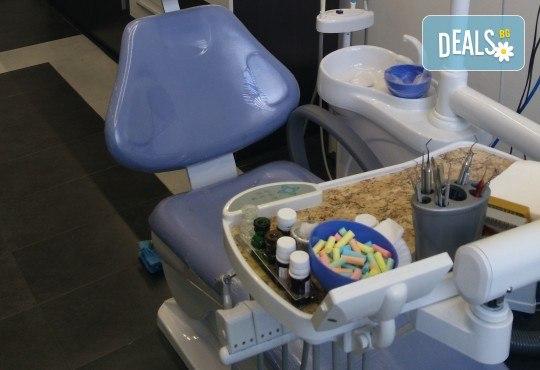 Почистване на зъбен камък и плака, полиране с абразивна паста, преглед и орално-хигиенни инструкции и съвети за поддържане на перфектна орална хигиена и здраве при д-р Иван Пулин - Снимка 7