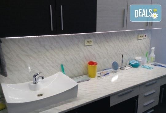 Холивудска усмивка! Една процедура - избелване на зъби с висококачествената система на Opalescense Boost при д-р Иван Пулин - Снимка 5