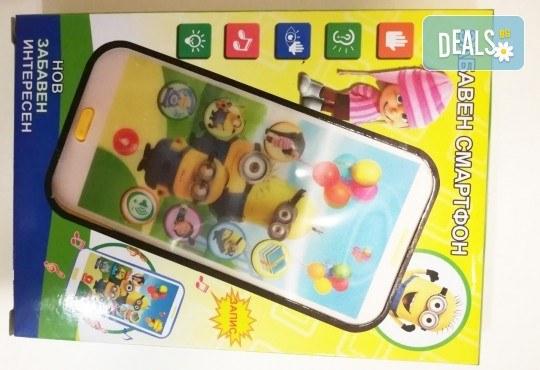 Изненадайте своя малчуган! Детски смартфон Миньоните или Леденото кралство с български приказки и песни от Магнифико! - Снимка 2