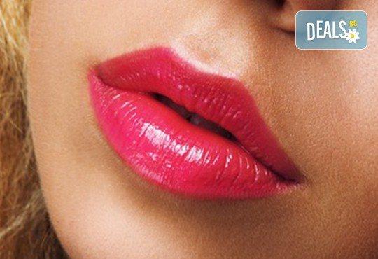 Сексапилни устни или изглаждане на бръчки с американски хиалуронов филър и ултразвук в Женско царство - Студентски град! - Снимка 2