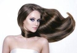 Ултразвукова биоламинираща терапия за коса, обработване със студена URS преса и оформяне със сешоар в Женско царство - Студентски град - Снимка