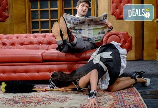 Гледайте Асен Блатечки в спектакъла на Театрална къща Viva Arte - Опасно за живота, на 04.12. от 19ч, Театър Сълза и Смях - Снимка 5