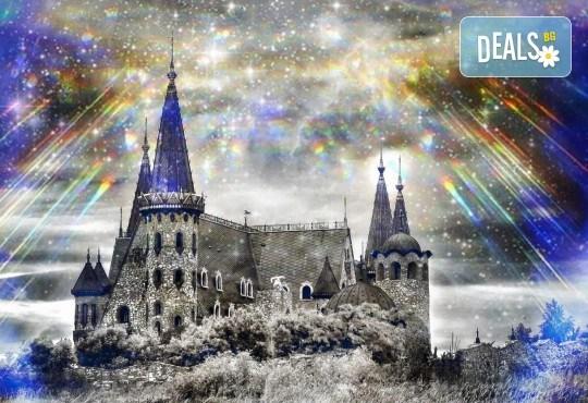 Уикенд среща с Дядо Коледа в замъка в Равадиново - разходка за 4-членно семейство, връчване на подаръци и 10 снимки + игра Търсачи на съкровища от събитието! - Снимка 3
